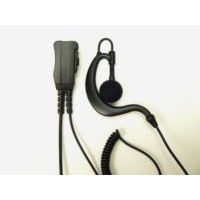 Black G shape Radio Earpiece & Mic.
