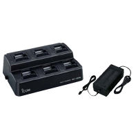 ICOM BC121-N F15 F25 SIX WAY CHARGER (O.E.M.)